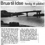 Avisklipp fra Strandbuen 1975