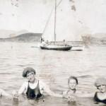 Baaten til Kaptein Gudbrandsen ved Marholmen