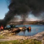 Brann i miljøstasjonen på kaien - 8. mai 2010