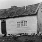 Ingeborghuset som stod ovenfor der hvor bedehuset naa er- bilde tatt i 1926