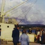 MS Stjerneroey sin siste tur til Idse vaaren 1975