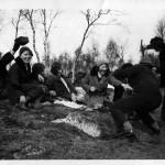 Paaskefeiring i Sauagarden paa 1930 tallet c) Bjorg
